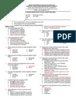 Soal UAS Database Kelas XII
