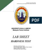 Hardness Test
