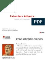 extructura atomica en quimica basica