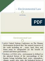 Slides 2 - UVT 2612 – Environmental Law
