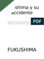 Fukushima y Su Accidente. Trabajo Geografia