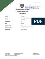 1- Course Info TAC501das