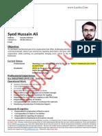 Hussain Ali - Logistics-Accounts ACCA