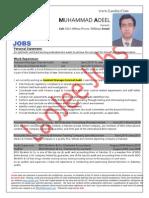 Muhammad Adeel - Asstt Mgr Audit