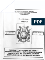 Punto Nro 63 Sistema de Calificacion Directiva