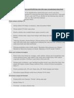 Tips & Trik Super Menghadapi Ujian