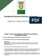 Higiene y Seguridad Industrial. Unidad II. (2015-1)