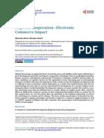 Regional Cooperation - Electronic Commerce Impact
