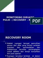 12. Pengelolaan Recovery – Room (Rr)