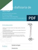 Fractura Diafisiaria de Femur