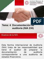 6.-Tema 4 Documentación de Auditoría