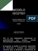 presetacion auditoria ISO 27001