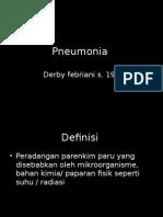 Pneumonia