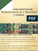 3trabaj Manual y Traccion Animal