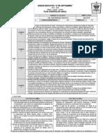 Plan Curricular Anual 8avo Ciencias Naturales