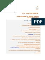 Curso Primero ESO Programacion LOMCE Inglés