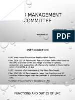 Land Management Committee