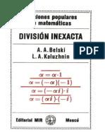 Division Inexacta