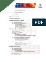 Estructura Norma ISO 9001