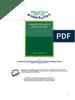 La elaboración de presupuestos en empresas manufactureras Libro