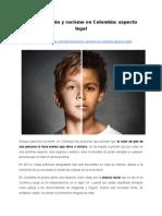 Discriminación y racismo en Colombia