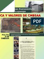 Política y Valores de CMBSAA