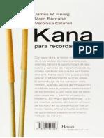 Kana Para Recordar - Katakana