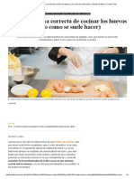 Cocina_ Esta Es La Forma Correcta de Cocinar Los Huevos (y No Como Se Suele Hacer)