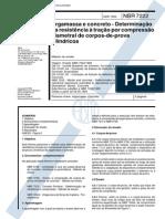 NBR 07222 - 1994 - Argamassa e Concreto - Determina