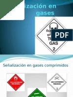 Señalización en Gases