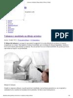 Volumen y Modelado en Dibujo Artístico _ Pintura y Artistas