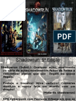 Shadowrun Apresentação