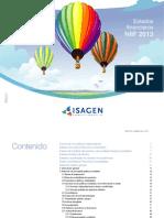 Isagen NIIF 2013 Espanol