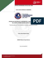 Villarroel Victor Proceso Auditoria Informacion Control Interno Coso II Erm