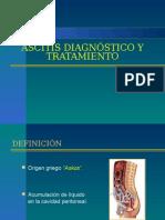 Ascitis Diagnostico y Manejo