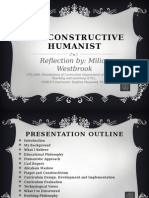 the constructive humanist