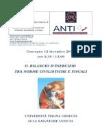 IL BILANCIO D'ESERCIZIO TRA NORME CIVILISTICHE E FISCALI