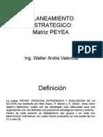 Matriz Peyea