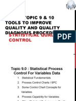 Topic 9 and 10 Control Chart
