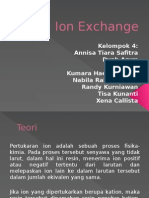 Ion Exchange -- UTILITAS