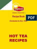 Exclusive Lipton Recipe Book
