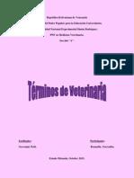 Glosario de Veterinaria