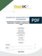 Examen Transporte Madrid Lipigas Diagrama Añadido