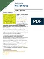 Konzert Transformator #2 – Nouvelle Cuisine Bigband | Österreichischer Komponistenbund