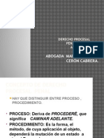 1.Concepto d Procesal y Sistemas Enjuiciamiento
