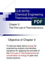 Chapter 3-First Law of Thermodynamics