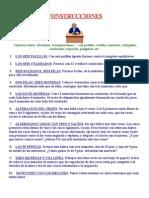 ACERTIJOS  CONSTRUCCIONES