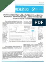 Ficha 4 - Vulnerabilidad de Los Acuíferos a La Contaminación.importancia de La Protección de Las Aguas Subterráneas