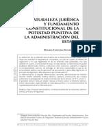 Naturaleza Jurídica y Fundamento