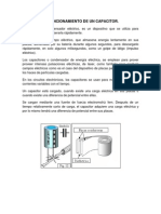 Principio de Funcionamiento de Un Capacitor